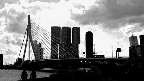 Uurtje Rotterdam: B&W grained