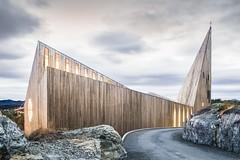 Церковь в Норвегии от Reiulf Ramstad Arkitekter