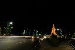Bambu Runcing Monument Surabaya (AdityaNanda) Tags: longexposure nightphotography night nightshot fujifilm surabaya exploresurabaya
