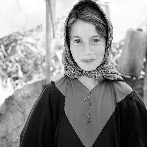 Syrian Migrant + Animal Shed, Bekaa Valley, Lebanon, 1998