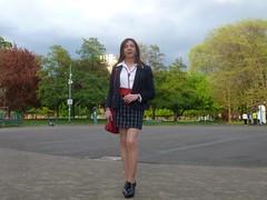 Milan - Parco Vittorio Formentano (Alessia Cross) Tags: tgirl transgender transvestite crossdresser travestito