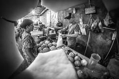 Grated Coconut Seller (Henry Sudarman) Tags: indonesia market traditional fisheye 828 jakarta need fujifilm seller buyer xa1 samyang traditionalmarket