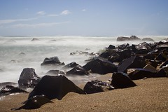 rocks (GreatWhiteShark3010) Tags: seascape canon eos long exposure mare filter nd sabbia 600d