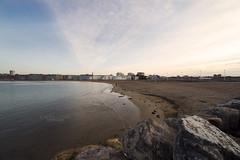 Playa de Poniente (Gijn) (CarlosConde/Photography) Tags: gijn sony asturias playa 28 poniente 14mm samyang ilce7m2