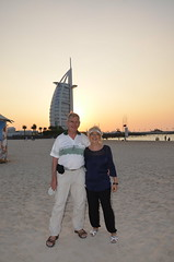 In Dubai (Ginas Pics) Tags: beach dubai jumeira ginaspics burjarab