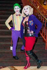 160101-0072 Ichibancon (WashuOtaku) Tags: cosplay northcarolina joker dccomics concord harleyquinn 2016 50mmf14g nikond800 ichibancon