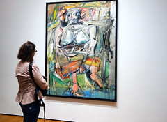 De Kooning, Woman I with Beth