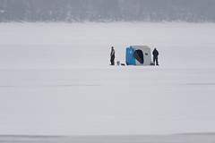 Fishing with Worms-47069.jpg (Mully410 * Images) Tags: winter snow cold ice water wisconsin river fishing mississippiriver icehouse peeing prescott icefishing stcroixriver
