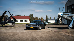 Mustang and Warbirds (Dejan Marinkovic Photography) Tags: classic ford car airplane 60s muscle aircraft north pony american planes 1967 chance mustang warbirds fastback f4u yakovlev vought yak3