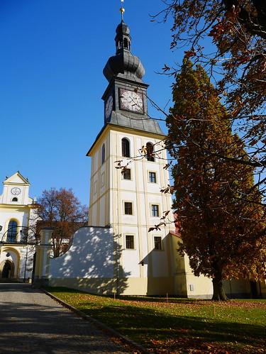 Monastery and Chateau Žďár nad Sázavou