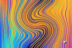 waves ... maker (mariola aga) Tags: abstract art colors illustration digital effects pattern bright wave filters