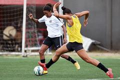 Auin e Dani (Santos Futebol Clube) Tags: vila santos da fc 2016 treino sereias