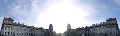 New & Old (The Old Royal Naval College, Greenwich) (samsenB) Tags: old panorama london college architecture pentax greenwich royal naval k5 compositing oldarchitecture smcpdal35mmf24al