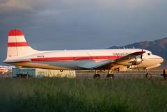 N82FA (GH@BHD) Tags: aircraft aviation douglas airliner kingman dc4 c54 propliner kingmanairport aeroflite n82fa