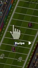 Blocky Football - Endless Arcade Runner (UX Examples (Mobile Games)) Tags: game ui tips gesture tutorial iphone 2016 blockyfootballendlessarcaderunner