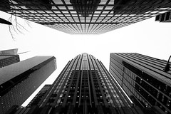 Look up (dansshots) Tags: blackandwhite monochrome architecture streetscene lookingup lookup bnw blackandwhitephotography cityscene 1735mm nycarchitecture newyorkcityarchitecture blackandwhitephoto alwayslookup blackandwhitenewyorkcity nikond3 newyorkcityinblackandwhite architectureofnewyorkcity dansshots iseeinblackandwhite