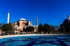 Hagia Sofia from Outside (Nomadic Photographer) Tags: church architecture turkey sofia istanbul mosque wanderlust hagiasofia sultanahmet hagia