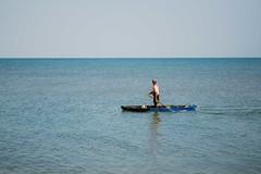 Pescar 3 (Races annimas) Tags: costa arbol atardecer mar colombia pescador caribe pescar pelcano islafuerte arbolquecamina