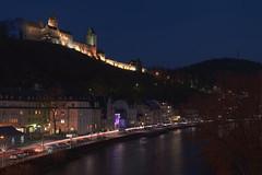 Burg Altena (Guido Bl.) Tags: castle night river germany landscape nightshot nrw burg altena lenne lennetal