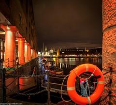 Albert Dock at night (1 of 19) (andyyoung37) Tags: uk longexposure england water night liverpool reflections boats cityscape unitedkingdom gb albertdock merseyside