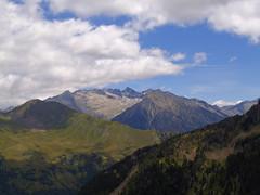 Widok na Val Creguena i Pico maladeta