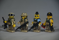 Task Force (LoganLego) Tags: modern lego warfare modcom tinytactical eclipsegrafx citizenbrick