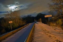 DSC_8663 (FirehawkNS) Tags: bridge snow river nc traintracks tracks northcarolina fullmoon moonrise snowday trainbridge moonshine movingclouds mountholly moonandclouds catawbariver gastoncounty winterinnc