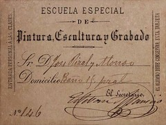 Jose Rizal: Student Identification Card (Leo Cloma) Tags: religious gallery furniture auction philippines images ephemera leon auctions makati autographs manuscripts cloma