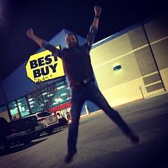 Shop Kickin' at Best Buy (ShanMcG213) Tags: al jump huntsville joey alabama bestbuy huntsvilleal joeybutler shopkick ihearthsv mybluefriday