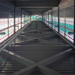 (mediafury) Tags: bridge turn hall vanishingpoint zoom tunnel down hallway wicked flip rotation upside linear rotate converginglines symmetrybalance