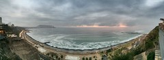 Lima Sunset Pano (Styggiti) Tags: