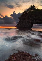 Cloudy Sky over Karang Bolong (Jose Hamra Images) Tags: sunset bali sunrise landscape tanahlot denpasar canggu karangbolong