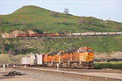 Caliente, California (UW1983) Tags: california trains freighttrains bnsf railroads caliente tehachapipass mojavesub