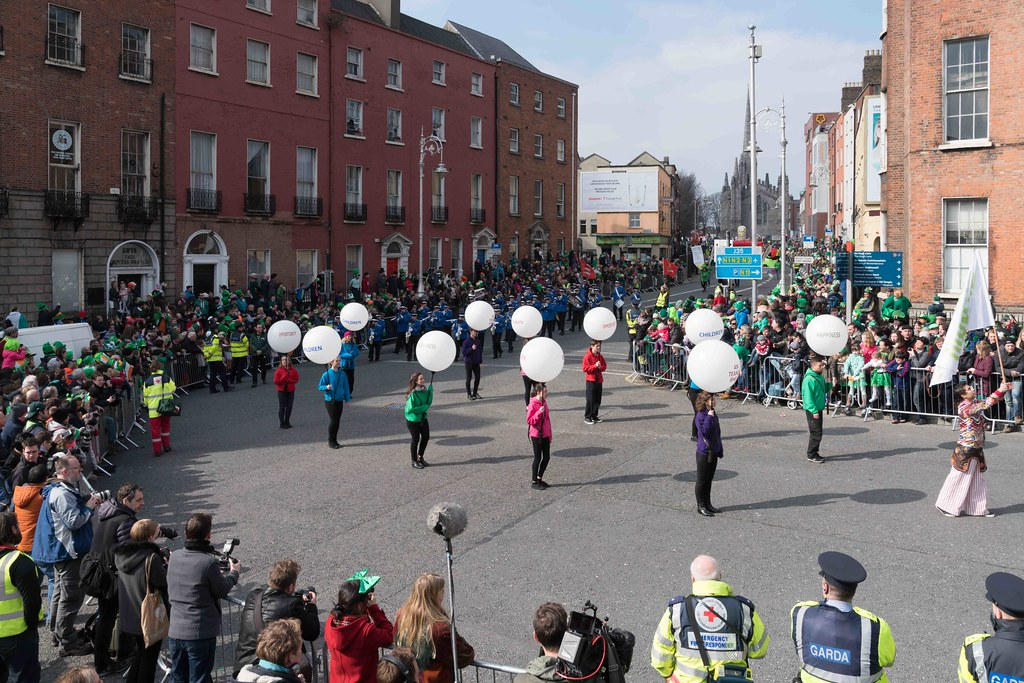 ESSEX MARCHING CORPS FROM THE UK [ST. PATRICK'S PARADE DUBLIN 2016]-112620