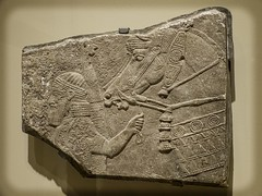 Relief fragment with warrior and horse Assyria (modern Iraq) 9th-8th century BCE Stone (mharrsch) Tags: seattle horse washington ancient iraq relief warrior mesopotamia seattleartmuseum assyria 8thcenturybce 9thcenturybce mharrsch