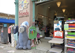 inflatable dog (squeezemonkey) Tags: california store venicebeach touristshop inflatabledog friendspetsupplygifts