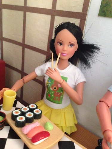 Loving my brunette steffi love doll