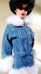 Repro Bubblecut Barbie in Fashion Avenue 1995 (barbiescanner) Tags: barbie denim mattel 90s repro fashionavenue 90sfashion bubblecut barbiefashion