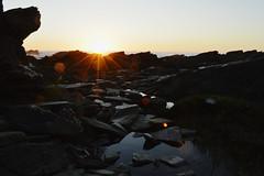 Fragmentado (VioletaAnais) Tags: ocean sunset sea naturaleza sun sunlight beach nature water rock atardecer photography photo nikon rocks waves natural moment nikons d3200 nikonshot