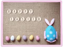 Happy Easter (Paula McManus) Tags: stilllife easter chocolate olympus easterbunny chocolateeggs happyeaster em5 20mm17 olympusomd