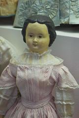 Antique German doll (quinet) Tags: germany munich toy deutschland doll antique allemagne spielzeug toymuseum jouet ancien puppen antik spielzeugmuseum poupes musedujouet 2013