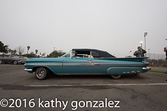 azealia1-4393 (tweaked.pixels) Tags: blue chevrolet turquoise impala sideview 1959 southgate rollin azealiafestival tweedymilegolfcourse