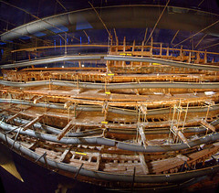 Wide Angle View of the Mary Rose (Non Paratus) Tags: uk england ship hampshire tudor portsmouth wreck henryviii warship preservation 16thcentury maryrose portsmouthhistoricdockyard 1545