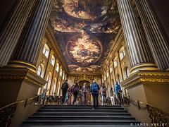 Entering Painted Hall (James Neeley) Tags: london greenwich paintedhall jamesneeley
