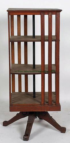 Oak Revolving Bookcase - $302.50 (Sold June 5, 2015)