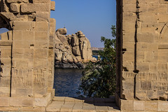 Rocks,water,tree (cpt_ahmed93) Tags: aswan nileriver philaetemple