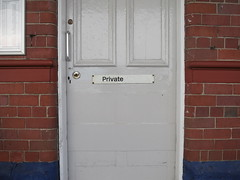 Private (the Magnificent Octopus) Tags: sign private br rail railway british alphabet