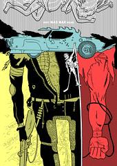 MAD MAX FURY DRAW - Ratigher (Sugarpulp) Tags: comics tribute fumetti madmax illustrazione sugarcon sugarpulp sugarpulpconvention