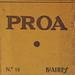 Revista Proa Nº 12, Buenos Aires, julio de 1925. Incluye el texto de Borges: 'El idioma infinito'.