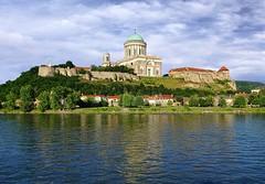 Esztergom (biglannie) Tags: city church beautiful wonderful river town europe basilica scenic hungry breathtaking danuberiver estergom postcardbeauty